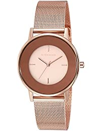 Giordano Analog Rose Gold Dial Women's Watch - A2052-55