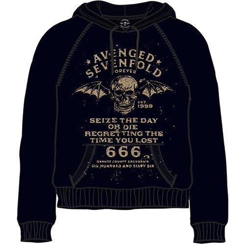 Avenged Sevenfold Seize the Day Felpa con cappuccio Ufficiale Autorizzato
