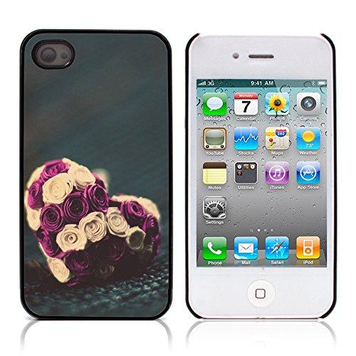 Graphic4You I Will love you Design Harte Hülle Case Tasche Schutzhülle für Apple iPhone 4 und 4S Design #14