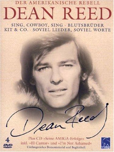 Dean Reed - Der amerikanische Rebell (4 DVDs + Audio-CD und Begleitheft)