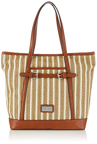 Gerry Weber 4080003155 Damen Henkeltaschen 39x31x13 cm (B x H x T) Braun (Light Brown)