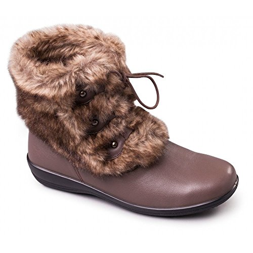 Padders Kim 530 - Ee/Eee Fit Taupe Boots Beige