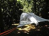 SkySurf 2Personen Camping Zelten–leicht, ganzjährig Baum Aufhängen Sleep System–Tree Hängematte-Stil für Rucksackreisen und Outdoor Abenteuer–Moskitonetzen Top, Ripstop-Nylon, blau