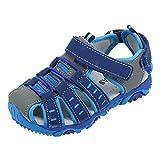 Niños Niños Zapatos Zapatos cerrados Boy Girl Sandalias de playa de veran Zapatillas ¡Verano caliente!  Manadlian (Azul, CN:24)