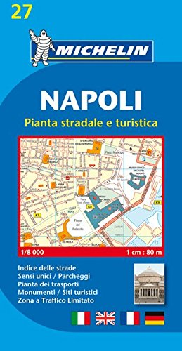 Napoli (Naples) - Michelin City Plans