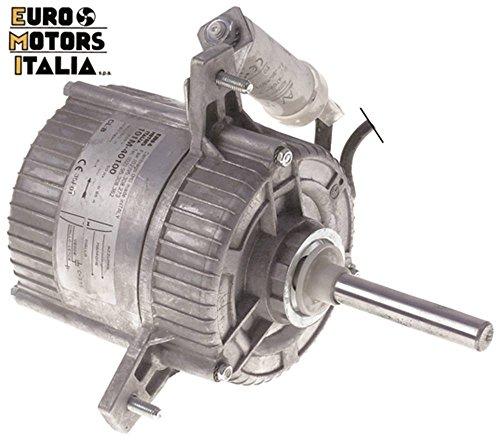 EURO MOTORS Lüftermotor 230V 100W 50/60Hz Höhe 105mm Tiefe 220mm