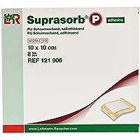 Suprasorb P PU-Schaumverband 10x10 cm Selbstklebend, 8 St preisvergleich bei billige-tabletten.eu