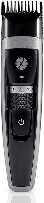 Xmate Juno Corded/Cordless Trimmer, 100% Waterproof, 70 min Runtime, 17 Length Settings, Lightweight, Rechargeable Beard Tri