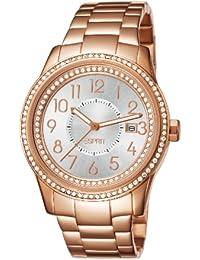 Esprit ES105432006 - Reloj para mujeres, correa de acero inoxidable color oro rosa