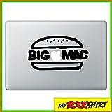 Big Mac Bigmac Hamburger Macbook Macbook Aufkleber Skin Mac für alle Macbooks passend