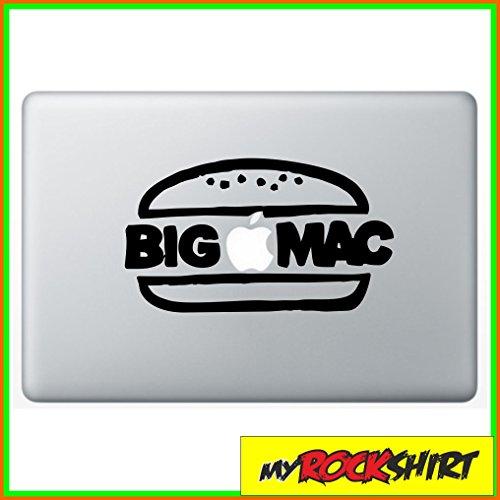Preisvergleich Produktbild Big Mac Bigmac Hamburger Macbook Macbook Aufkleber Skin Mac für alle Macbooks passend