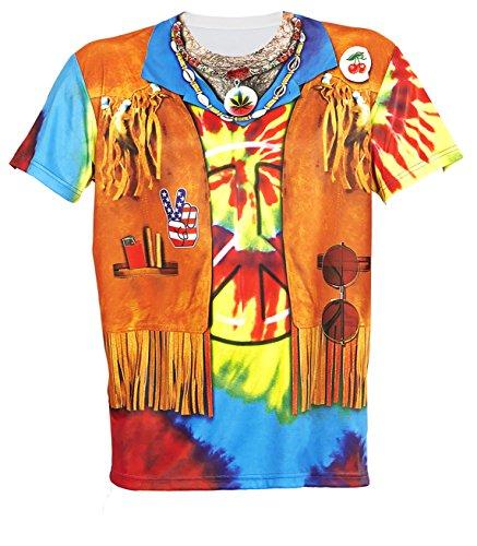 t Hippie für Männer, X-Large ()