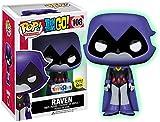 Funko - Figurine Dc Comics - Teen Titans Go ! - Raven Glow In The Dark Exclu Pop 10cm - 0889698114196