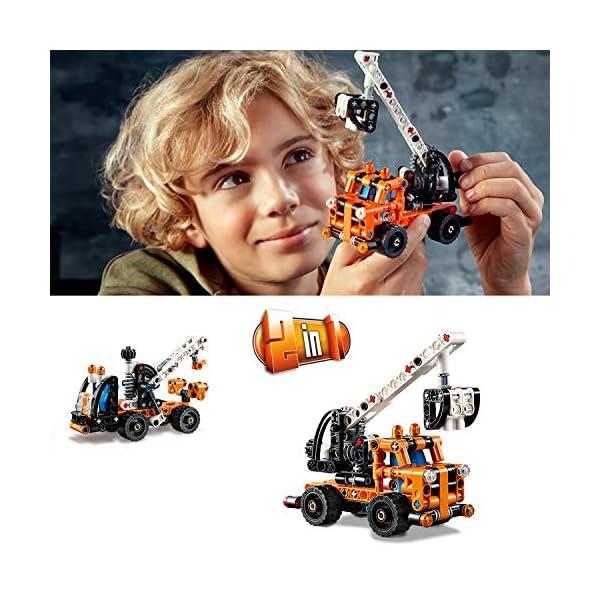 LEGO Technic - Gru a cestello, 42088 5 spesavip