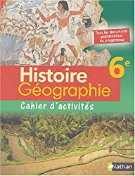 Histoire-Géographie, 6e (Fichier d'activités)
