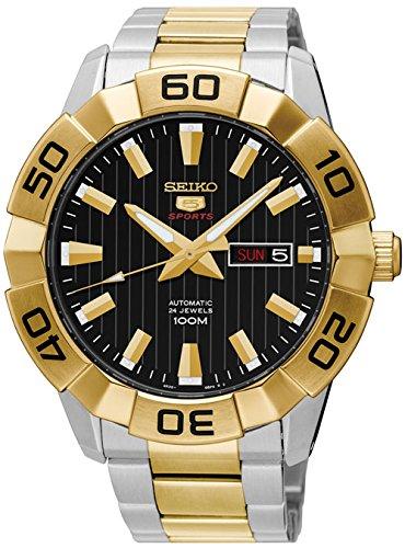 Seiko Herren-Armbanduhr SRPA56K1 (Seiko Uhr Silber-herren)