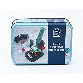 Make Your Own Microscope Kit - Gift In A Tin Activity Set