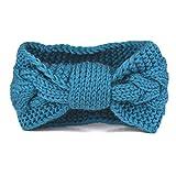 Zelta - Cinta para el pelo - para mujer azul azul cian Medium