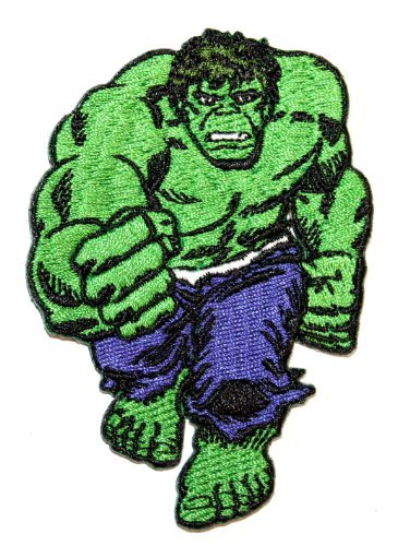 Marvel Comics Avengers The Incredible Hulk Brute Force Fist Iron On Applique Patch by Cool-Patches