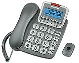 Telefunken TF 591 Téléphones Monobloc Ecran Gris