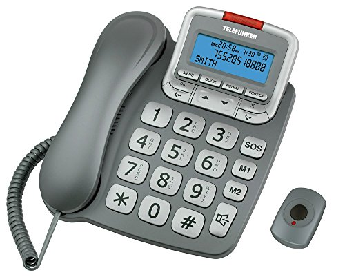TELEFUNKEN TF 591Telefone Monoblock Display grau