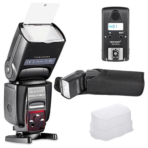 Neewer nw570Master Slave Wireless Flash Speedlite mit integriertem 2,4G Blitzauslöser System für Nikon Kameras wie D7200D7100D5200D5100D5000D3000D3100D700D600D90D80D70