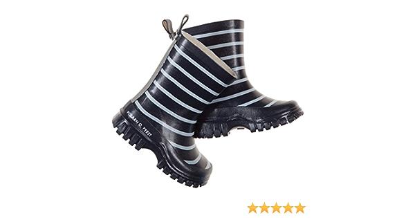 PYRET CLASSIC STRIPE RAIN BOOTS - 9.5US//26EU//Dark Sapphire POLARN O 2-6YRS
