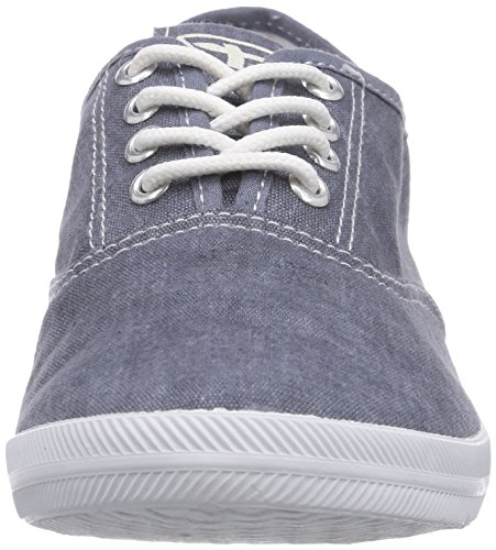 Tamaris 23609, Sneakers basses femme Bleu - Blau (Denim 802)
