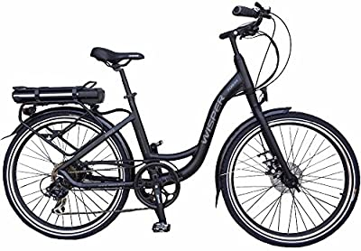 Wisper 705se Stealth Black Electric Bike