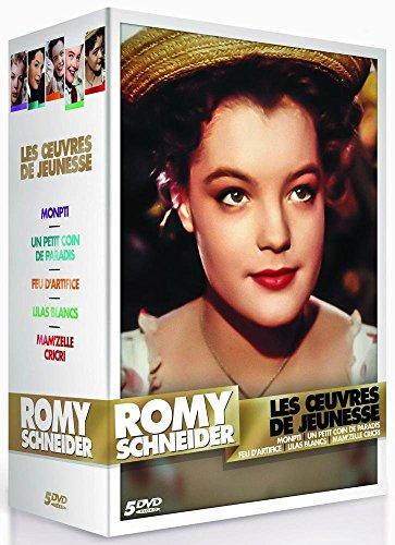 Romy Schneider : Les oeuvres de jeunesse : Monptit + Un petit coin de paradis + Feu d'artifice + Lilas blancs + Mam'zelle Cricri [Edizione: Francia]