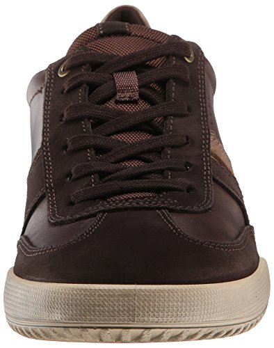 Ecco Graham, Baskets Basses homme Multicolore - Mehrfarbig (Licorice/Coffee Super Sue/Firefly55821)