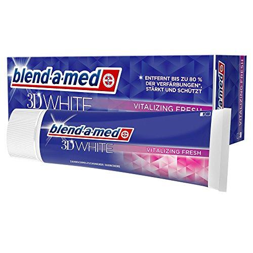Frische, Saubere Minze Zahnpasta (Blend-a-med 3DWhite Vitalisierende Frische Zahnpasta 75ml)