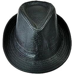 Shanxing - Sombrero de vestir - para hombre negro negro Talla única
