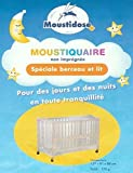 Moustidose Moustiquaire Non Imprégnée Spécial Berceau et Lit de Bébé