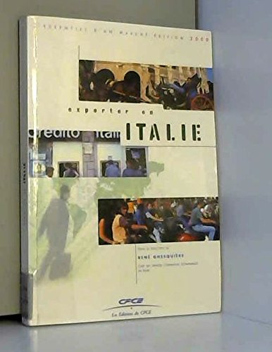 Exporter en Italie par Collectif, René Ghesquière