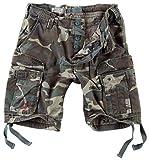 Surplus Hombres Airborne Vintage Pantalones Cortos Lavado Woodland tamaño 3XL