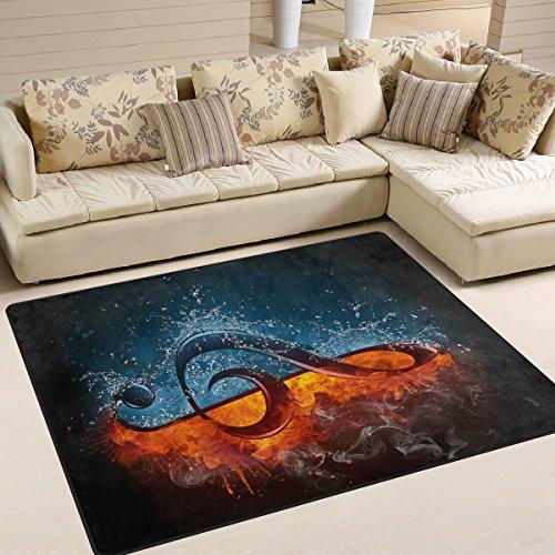 te Rutschfeste Bereich Teppich für Dinning Wohnzimmer Schlafzimmer Küche, 50x 80cm (7x 2,6m) mit Kinderzimmer-Teppich Boden Teppich Yoga-Matte, Multi, 150 x 200 cm(5' x 7') ()