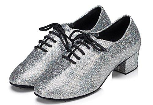 Tda Silber Tda Damen Damen Tanzschuhe IOg8w