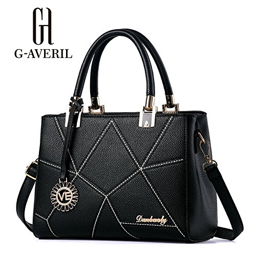 G-AVERIL, Borsa a mano donna Navy Blue Black