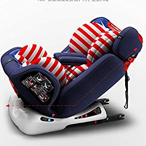 DLYGH Baby product Group 1/2/3 Baby Car Seat, Isofix, Maximum Security for Babies Between 9-36 Kg, Infant And Children Car Seats   15
