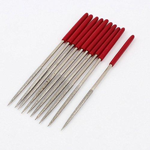 10 Stk rot Plastik Handgriff rund Typ Diamont Flisen Set Handlich Werkzeug 140x3mm de