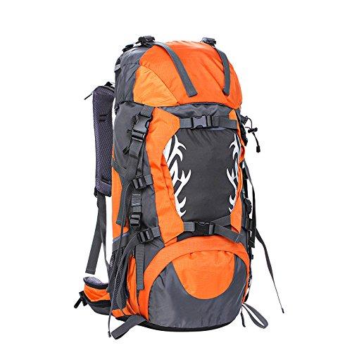 Un nuovo giorno di arrampicata borsa spalla-coppia all'aperto alpinismo borsa sospensione sistema capacity45L 31 * 65 * 21 , deep blue Orange