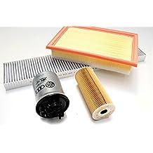 INSPEKTIONSPAKET AUDI A4 B6 B7 1,9 TDI Luft Ölfilter Pollenfilter Dieselfilter