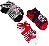 FC Bayern München Unisex - Kinder Sneakersöckchen 3 er Pack 580 1007 3