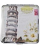 caripe Zigarettenetui 18 - 20 Zigaretten, viele Designs - art (aw7 - Pisa)