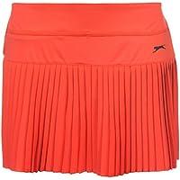 Slazenger Mujer Baseline Tenis Falda Señoras Ropa Deporte Entrenar Casual