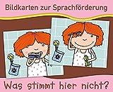 Bildkarten zur Sprachförderung: Was stimmt hier nicht? - Neuauflage