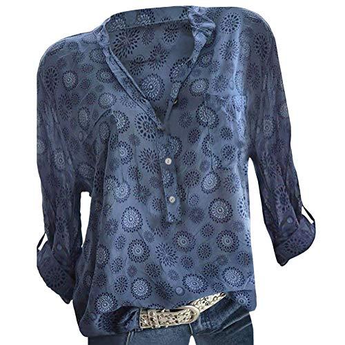 ShallGood Camisas Mujer Camiseta De Cuello Alto De