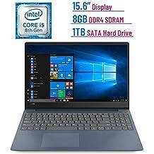 Newest Premium Lenovo IdeaPad 330s 15.6-inch HD Laptop PC (Intel Quad-Core I5-8250U Processor, 8GB DDR4 SDRAM + 16GB Intel Optane Memory, 1TB HDD, Bluetooth, HDMI, Dolby Audio, Windows 10, Blue)