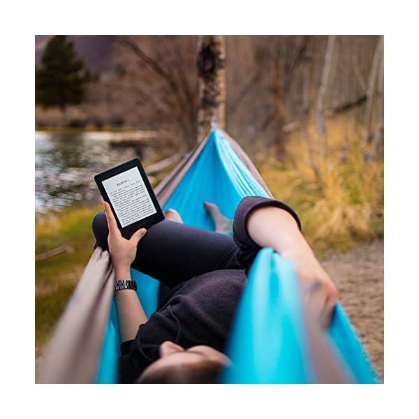 Kindle Paperwhite eReader, Zertifiziert und generalüberholt, 15 cm (6 Zoll) hochauflösendes Display (300 ppi) mit integrierter Beleuchtung, gratis 3G + WLAN (Schwarz) – mit Spezialangeboten (Vorgängermodell – 7. Generation)
